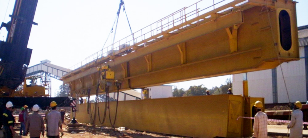 Erection of FTA Girder